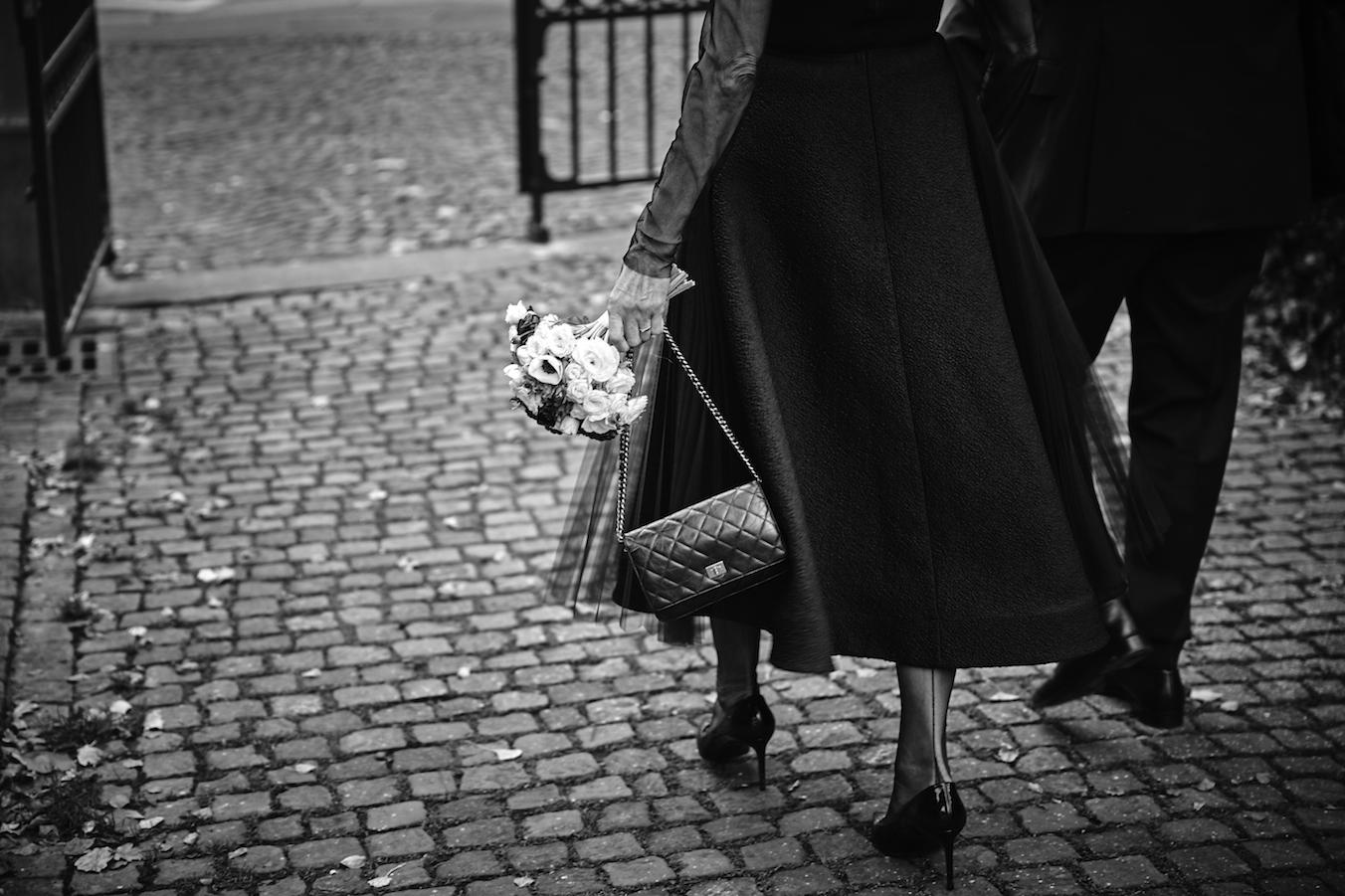 sposa in città